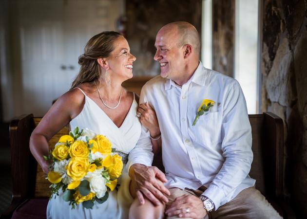 Lake of the Ozarks Wedding Couple Chapel