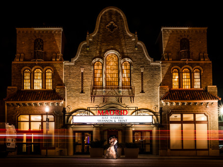 Madrid Theatre Wedding | Shannon & Trent