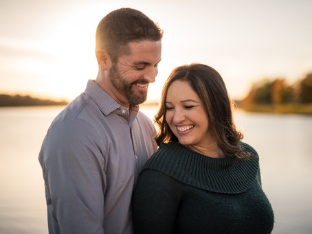 Shawnee Mission Park Engagement | Sarah & Nick