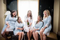 Sheraton Hotel OP bridesmaids
