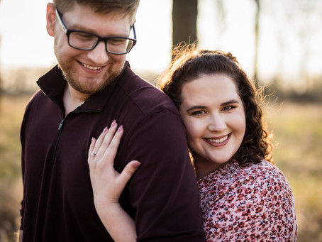 Burr Oaks Engagement | Karen & Chris