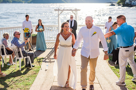 Lake of the Ozarks Wedding Recessional