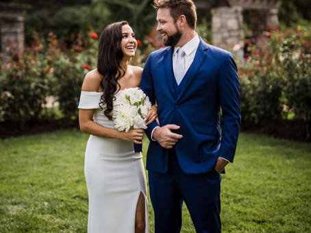 Loose Park Wedding | Destiny & Caleb
