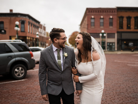 The Beck Event Space Wedding | Bethany & Matthew