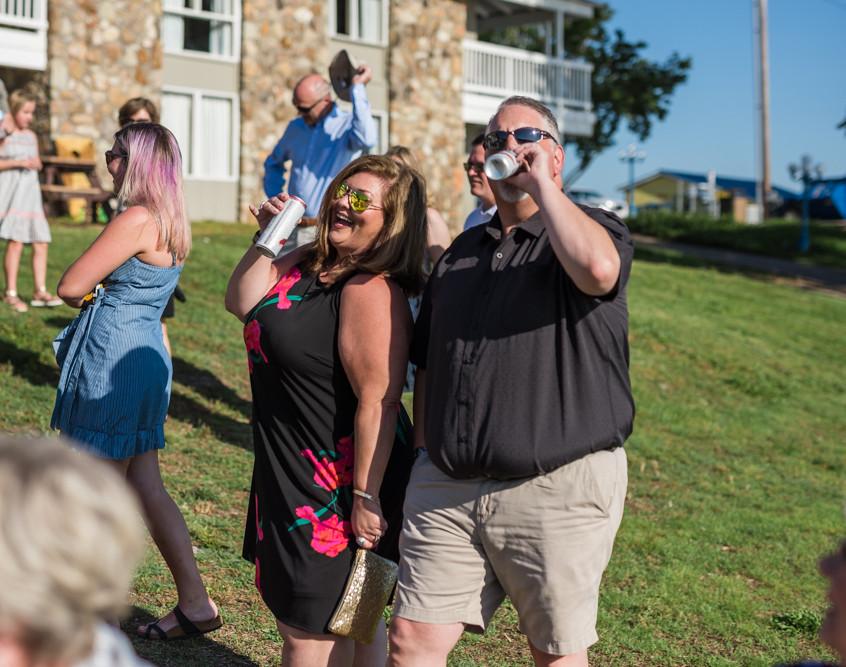 Lake of the Ozarks Wedding Ceremony People