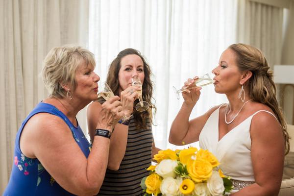Lake of the Ozarks Wedding Bridal Friends