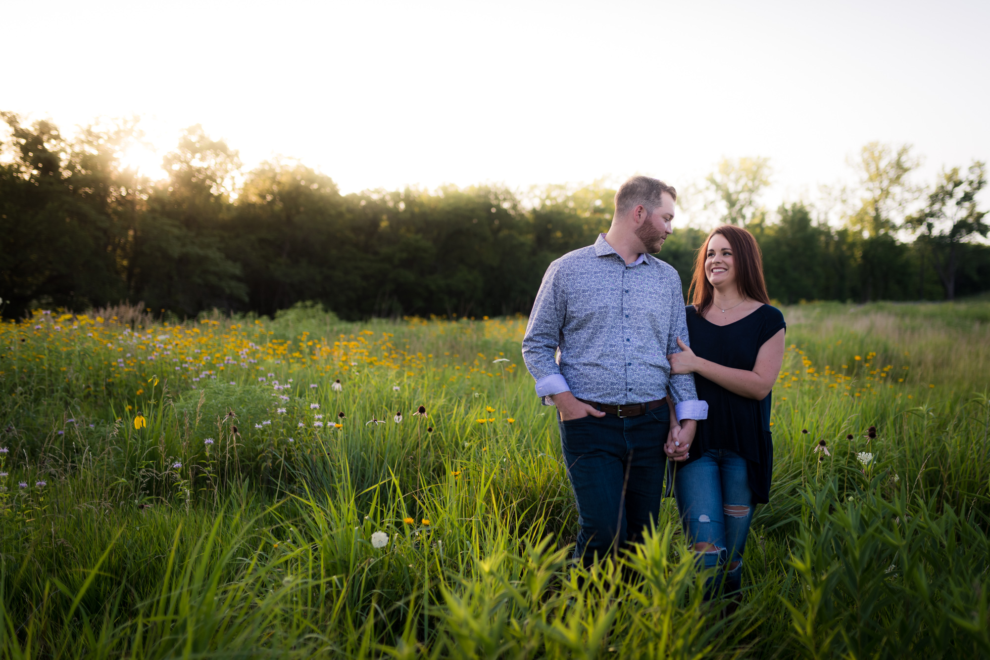 Kansas City Wedding Photographers couple