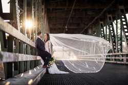 KC West Bottoms bride wedding