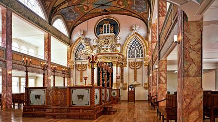 La primera sinagoga en México