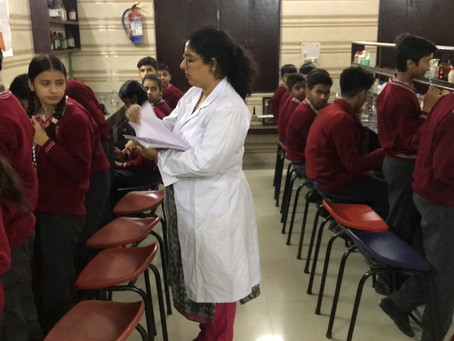 Science Experiments Made Students More Confident to choose science at Manava Bhawna Public School