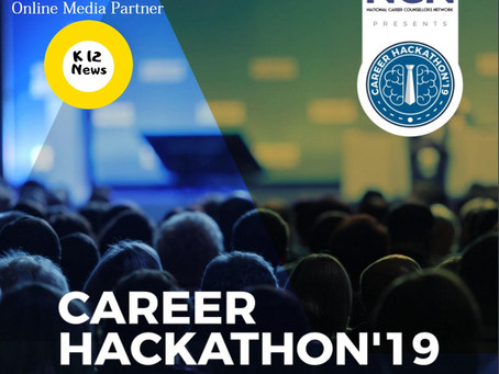 Career Hackathon'19, an event curated under the banner of National Career Counsellor's Network