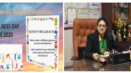 An Online Talk Session for students on Mindfulness Organized by Kalka Public School, Alaknanda Delhi