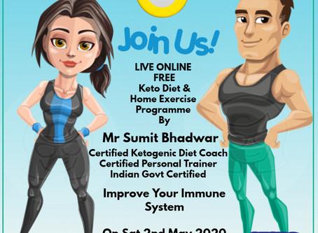 K12News Presents Free Live Workshop on improving Immune System & Fitness During Lockdown