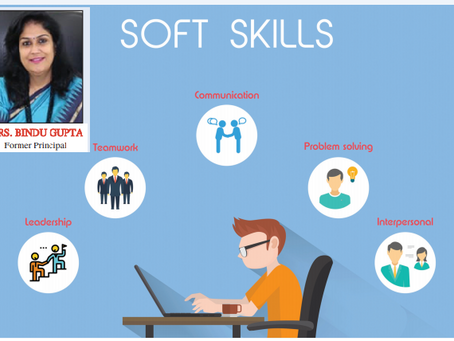 Importance of Soft Skills : Mrs Bindu Gupta