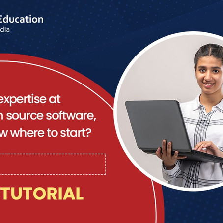 Gain expertise at free and open source software, try spoken tutorial