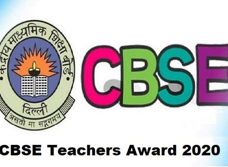 List of Principals/Teachers who have been selected for CBSE Awards to Teachers 2019-20.