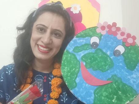Modern Delhi Public School, Greater Faridabad Celebrated Earth Day