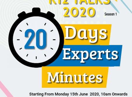 K12 News Network Presents K12 Talks 2020 Season 1