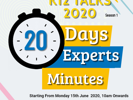 K12 News Network Presents K12 Talks 2020 Season 1