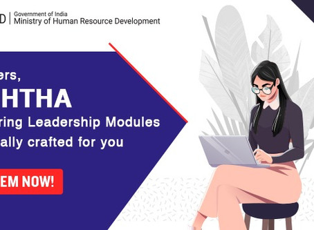Teachers, brush up your leadership skills while at home with NISHTHA