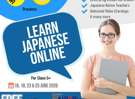 Free Trial of Online Japanese Classes by Kiwami Japan