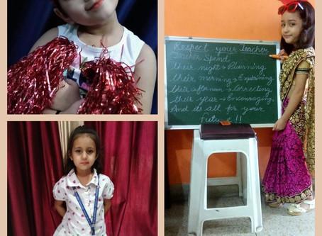Virtual Teacher's Day Celebration at GBN Sr Sec School, Sector-21D, Faridabad.