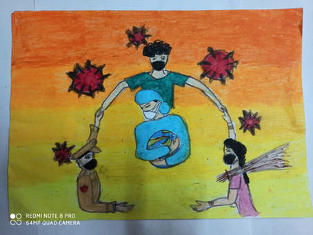 Green and blue ,the clue for the future – Shubham Gupta, Ramjas School, RK Puram, New Delhi