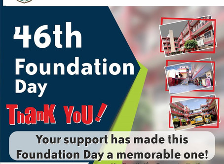 Little Flowers Group of Schools adds virtual wings to the celebration of 46th Foundation Day