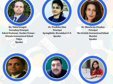 School Principals sharing Innovative Online Practices-Knowledge Exchange Programme by EduDrone