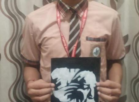 Manava Bhawna public school organized Rabindernath Tagore birth anniversary