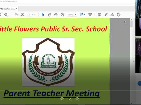 Digital PTM was organised by Little Flowers Group of Schools Delhi