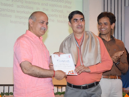 Mr. Anil Kumar Dogra, Vice Principal from Little Flowers Group of Schools, has been conferred...