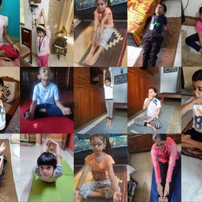 International Yoga Day Celebration at Ramjas School RK Puram Delhi