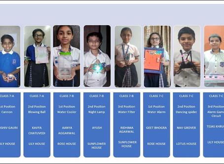 Online Competition-Best Out Of Waste was organised by St. Margaret Sr Sec School, Prashant Vihar