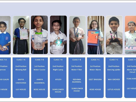 Online Competition-Best Out Of Waste was organised by St. Margaret Sr Sec School, Prashant Vihar