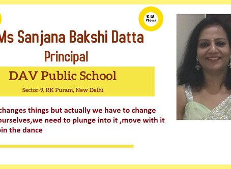 Time changes things but actually we have to change time ourselves - Ms Sanjana Bakshi Datta