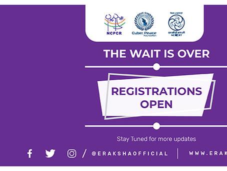 The second edition of the eRaksha Competition – Students, Teachers & Parents Can Participate