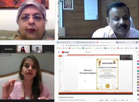 Career Beacon held India's Principal e-Conclave virtually on 10 June 2020