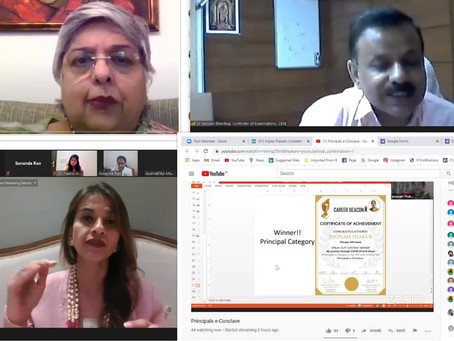 Career Beacon held India's Principal e-Conclave virtually on 10 June 2020