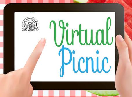 Virtual Picnic Organized by Ramjas School RK Puram New Delhi