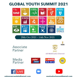 EdMonger with EdWeb studio as associate partner presents 1st Virtual Global Youth summit for SDGs 21