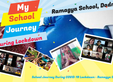 School Journey During COVID-19 Lockdown - Ramagya School, Dadri