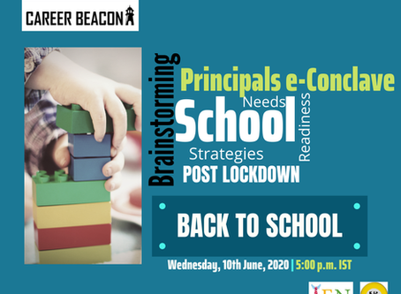 Principal's e-conclave Season 2 - new topic, new speakers new perspective - Career Beacon
