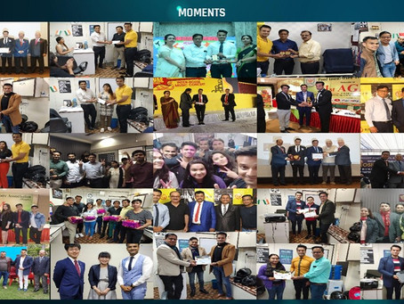 Indian Business Education Media, a successful boot strapped startup: 2nd anniversary of it's Branch