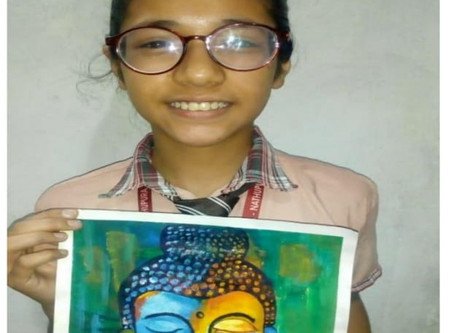 Online Classes & Poster Making Competition at Manava Bhawna Public School