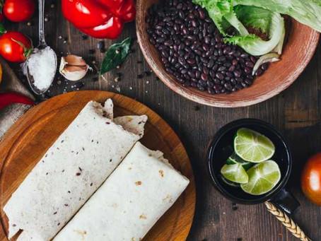 Receta de Burritos con frijoles y carne