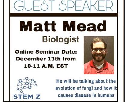 Seminar- Biologist Matt Mead