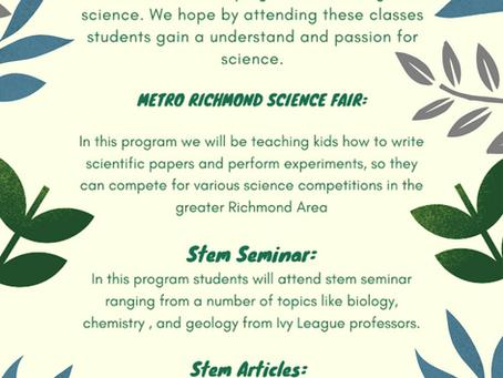 Stem Z's New Science Program