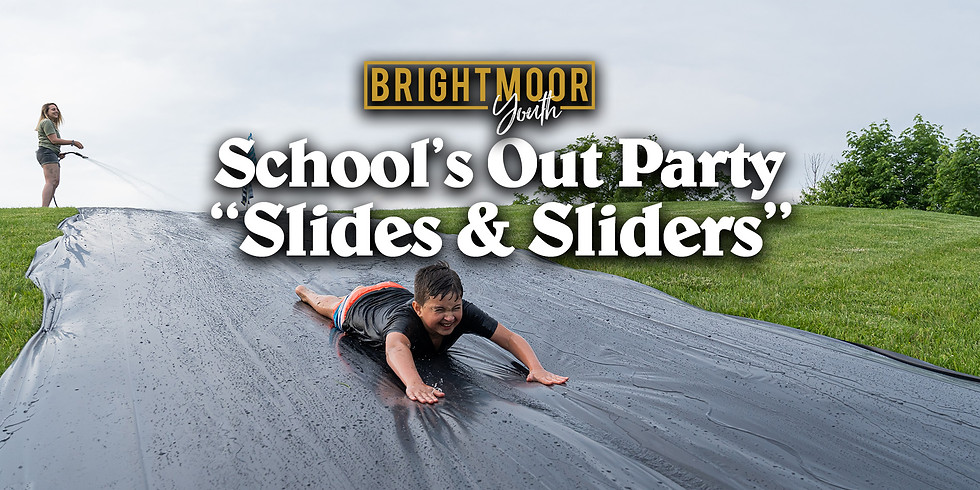 Schools Out Party - Slides & Sliders!