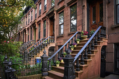 Brooklyn Heights Brownstone Houses